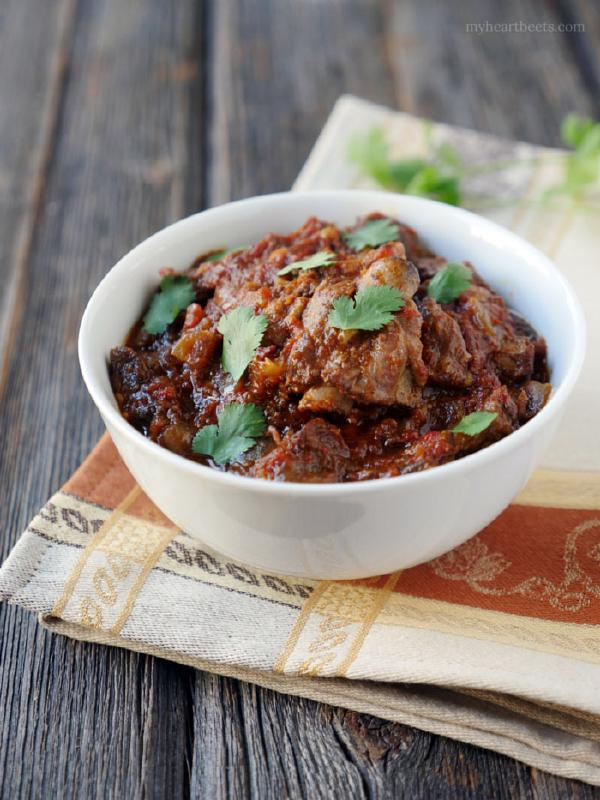 Slow Cooker Indian Goat Curry